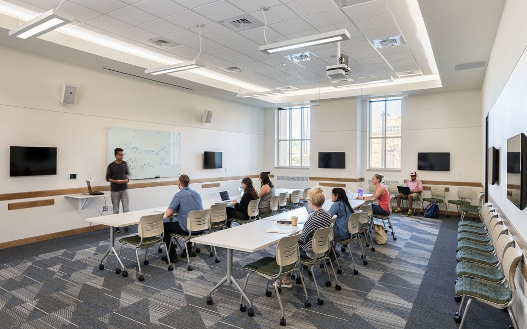 University of Colorado Classroom
