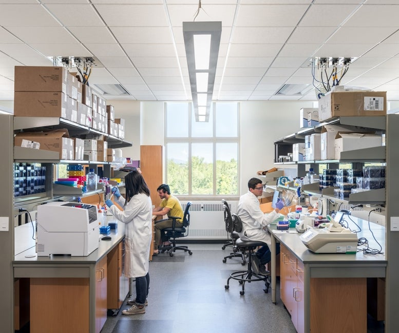 University of Colorado laboratory people