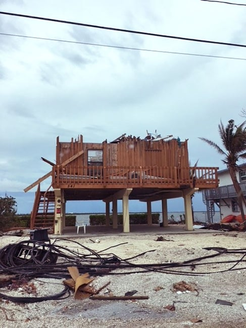 Hurricane Irma Home Damage