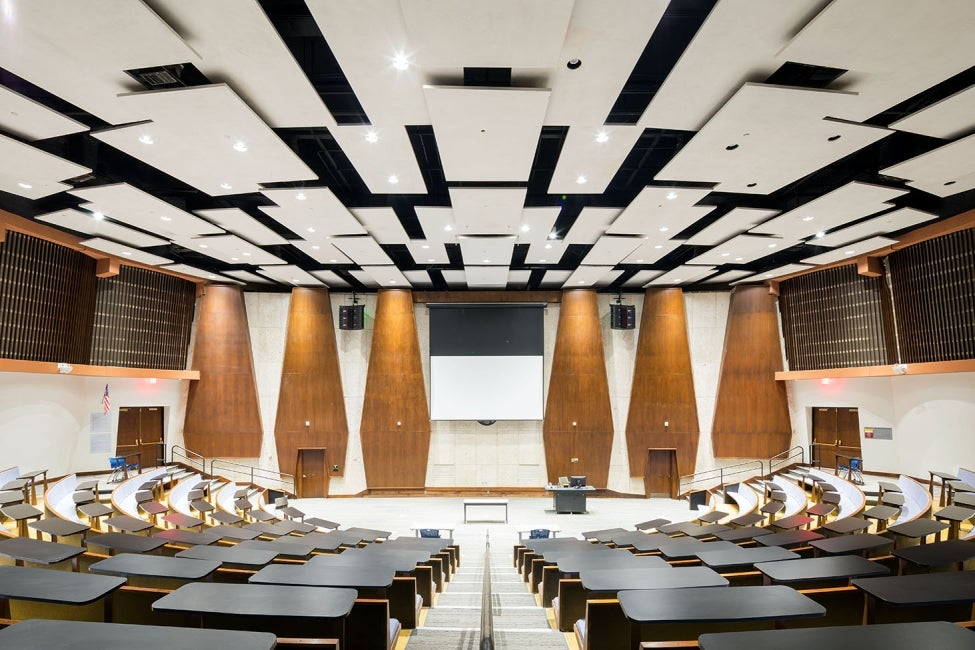 Armstrong Hall lecture hall