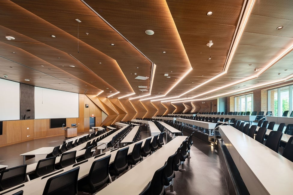 Brendan Iribe Center for Computer Science and Engineering lecture hall