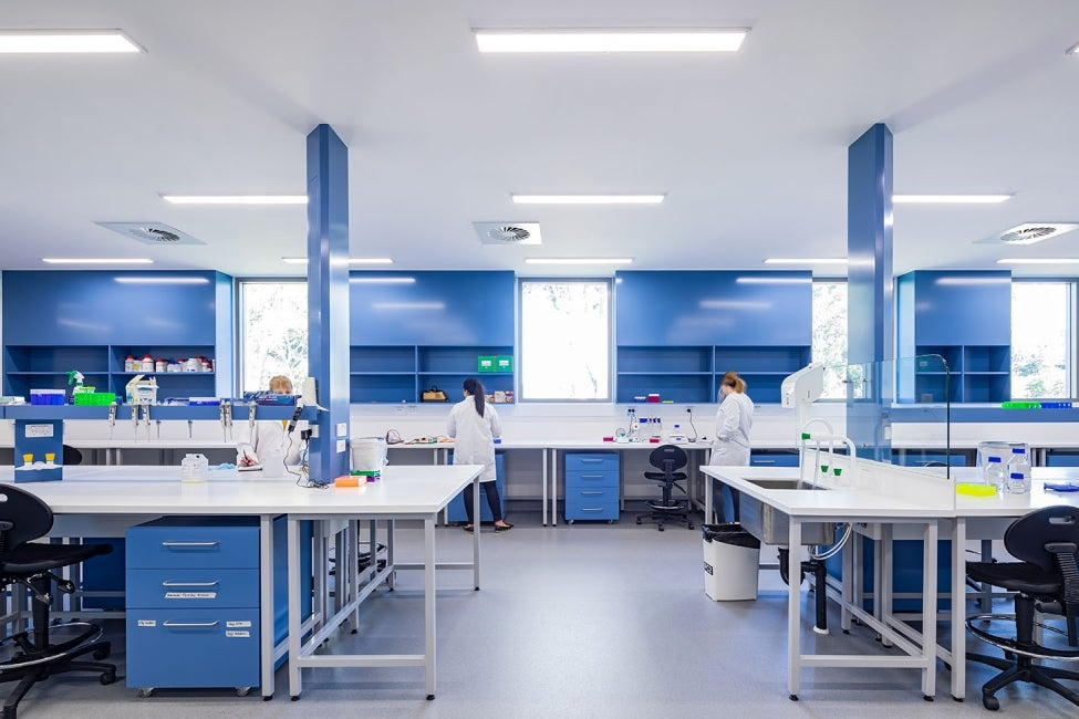 Macquarie University Biological Sciences Interior Laboratory HDR