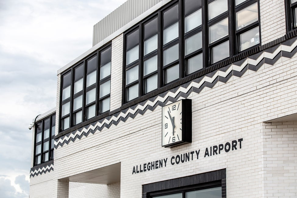 Allegheny County Airport terminal airside