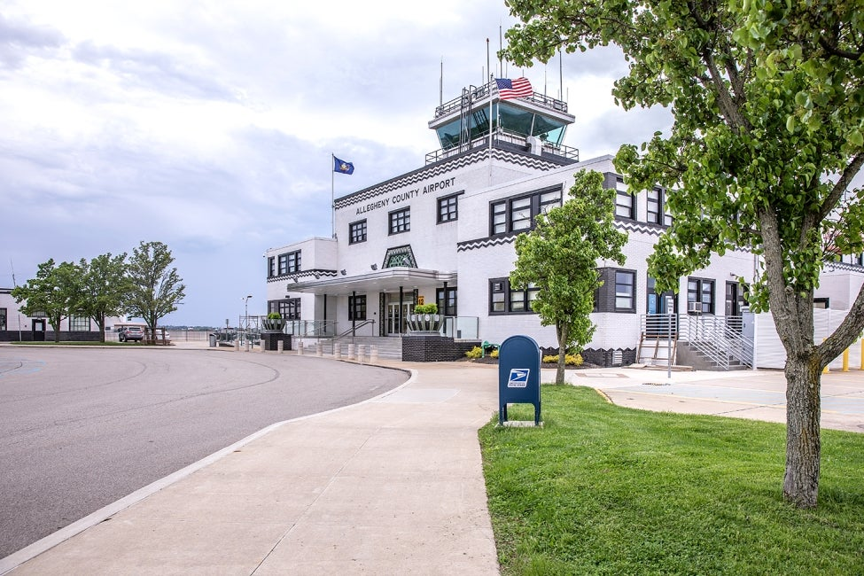 Allegheny County Airport terminal front