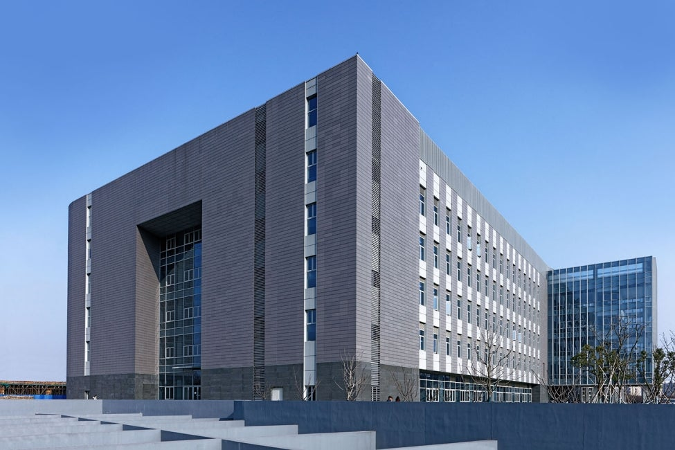 China Pharmaceutical University Jiangning Campus Lab Building facade