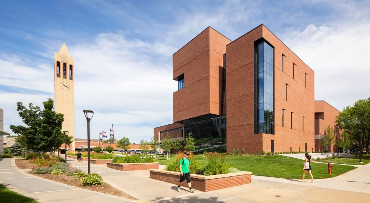 University of Nebraska Strauss Performing Arts exterior
