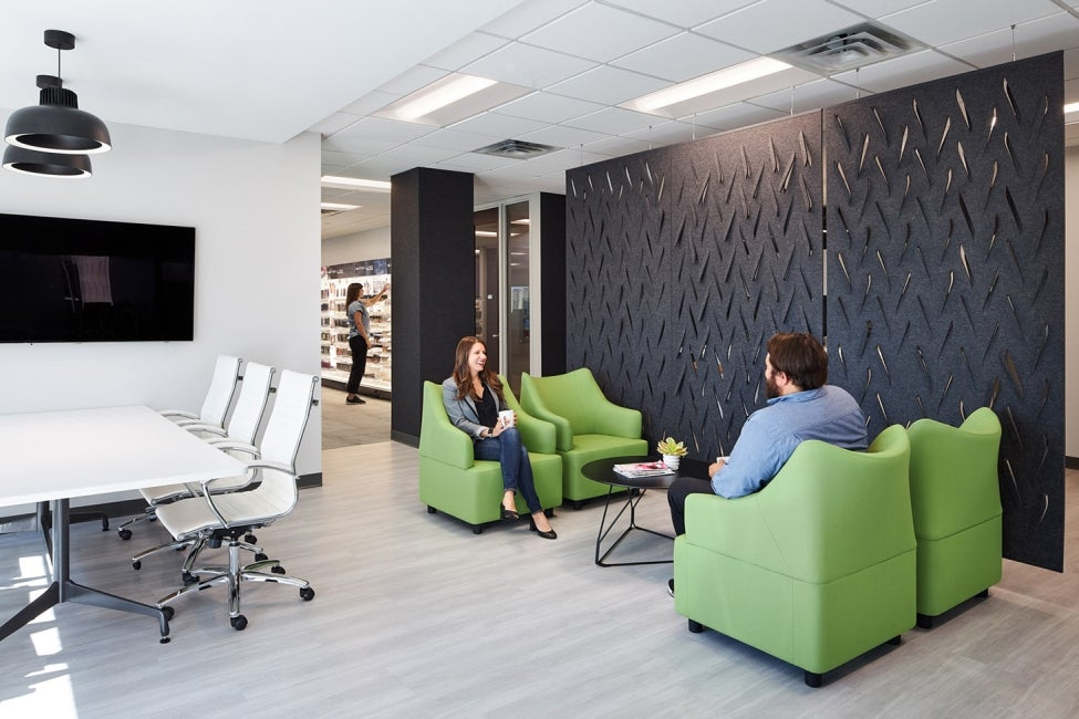 L'Oreal Office Renovation Minneapolis Collaboration Zone