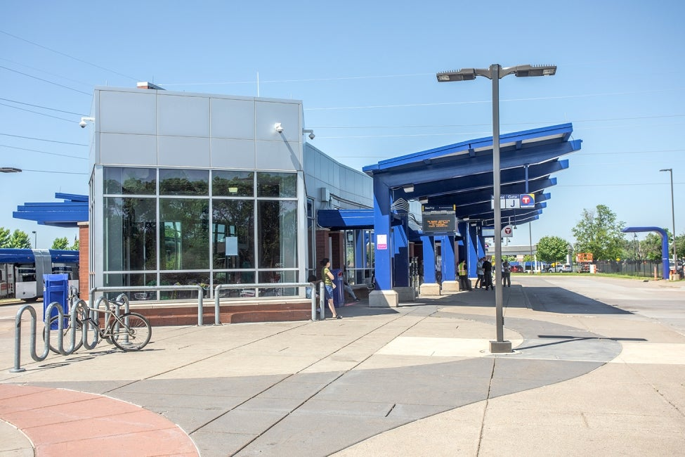 Minneapolis C Line BRT station