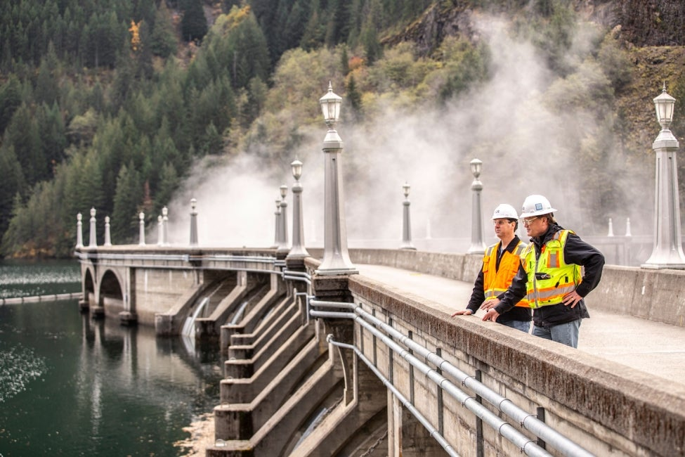Diablo Dam Safety Inspections