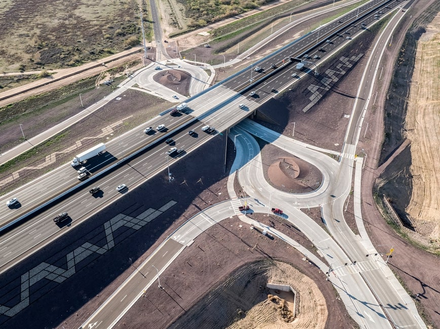 arizona south mountain freeway interchange