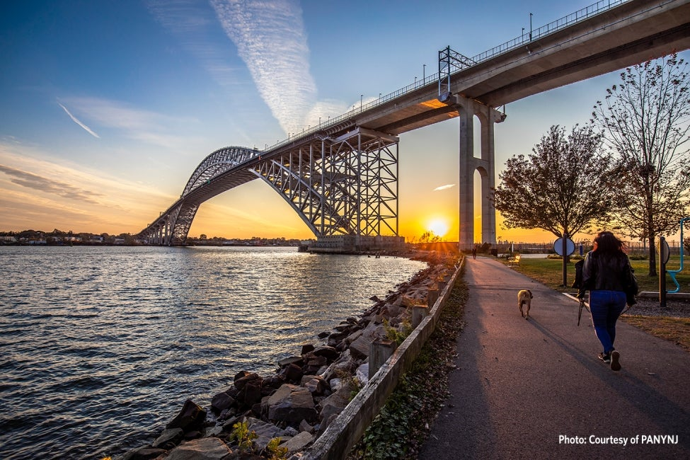 bayonne bridge park walker
