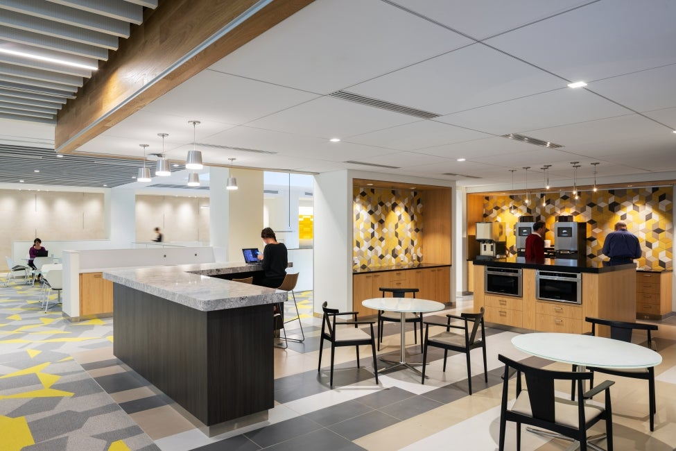 Bristol-Myer Squibb Workplace Addition Breakroom