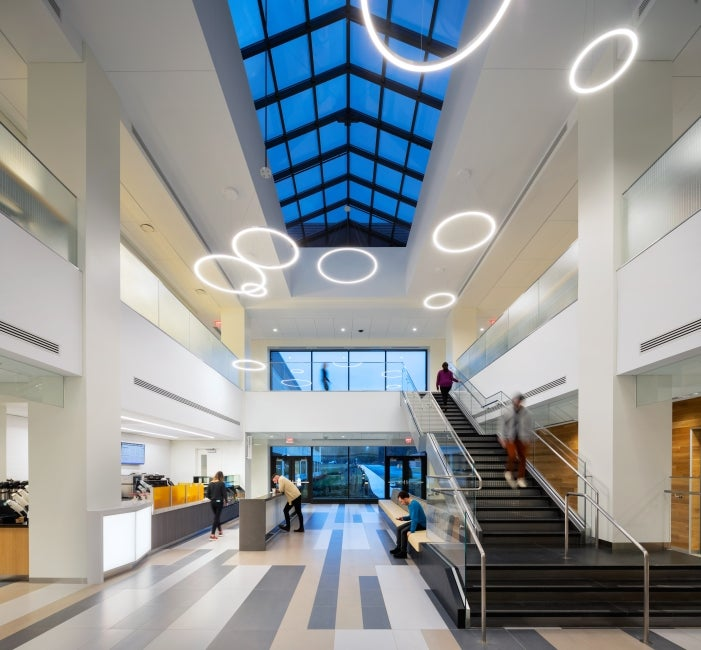 Bristol-Myer Squibb Workplace Addition Lobby