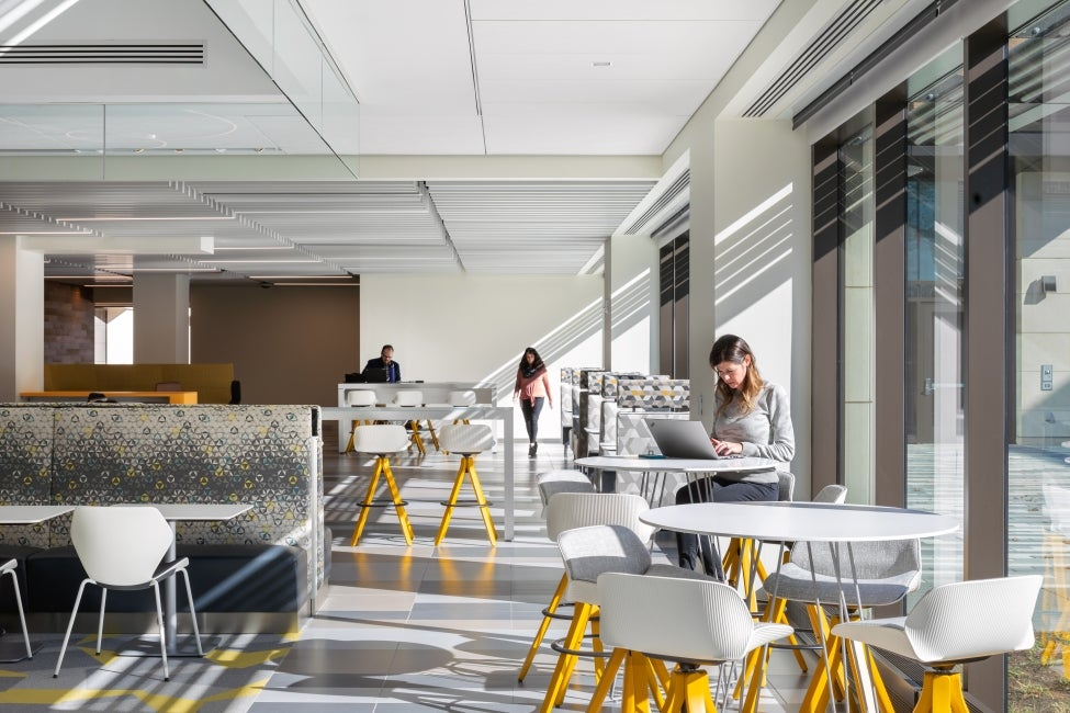 Bristol-Myer Squibb Workplace Addition Lounge