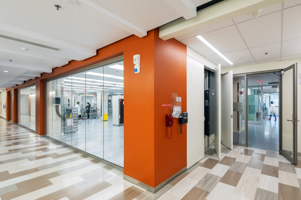 Bristol-Myer Squibb Workplace Addition Science on Display