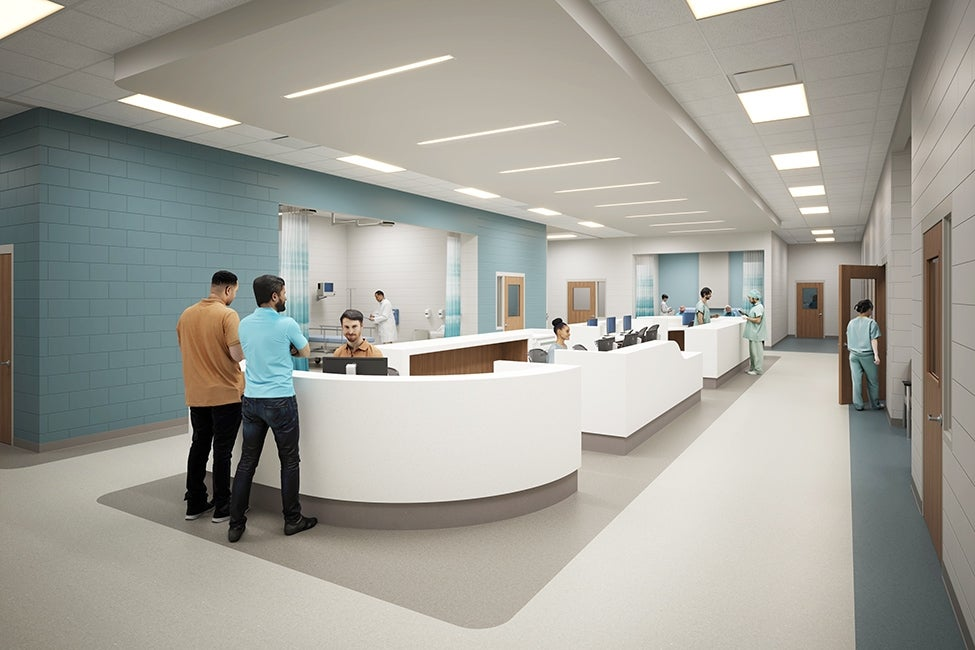 Joliet In-Patient Treatment Center Nurse Station