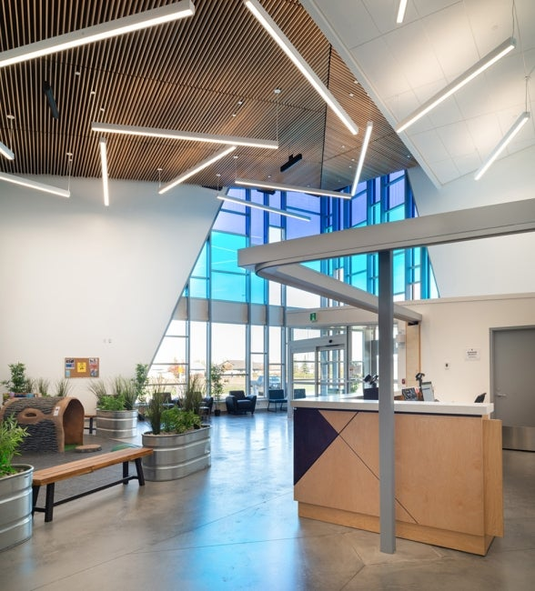 Northside Community Centre Lobby