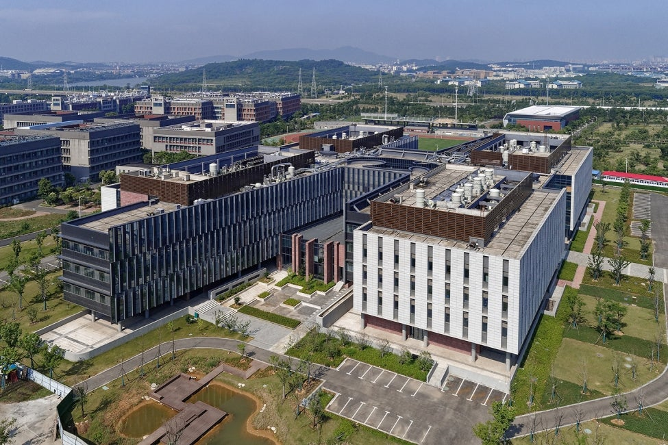 Nanjing University College of Engineering and Applied Sciences Birdseye view