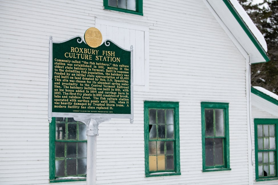 "Roxbury Fish Culture Station | History of the ""Fish Hatchery"""