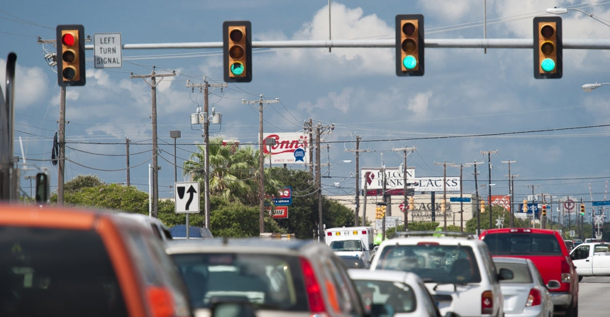 City of San Antonio Traffic Signal | San Antonio, TX, US