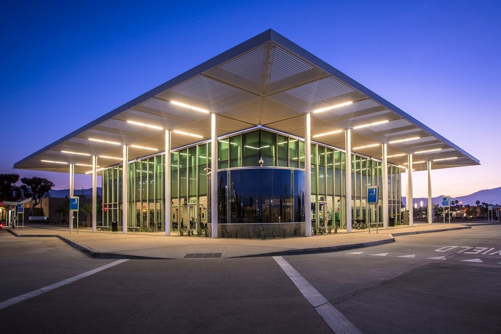 San Bernardino Transit Center Hdr