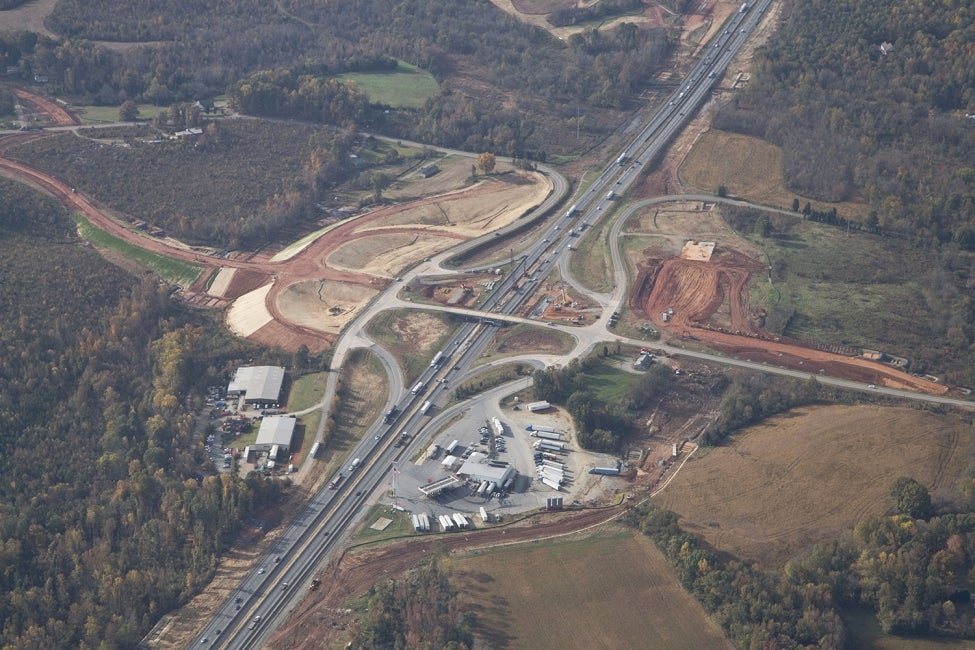 North Carolina I-85 Reconstruction, Phase 2 | US
