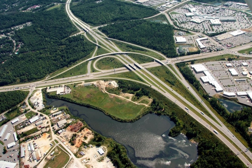 I-540 at US 1 and Triangle Towne Boulevard | North Carolina, US