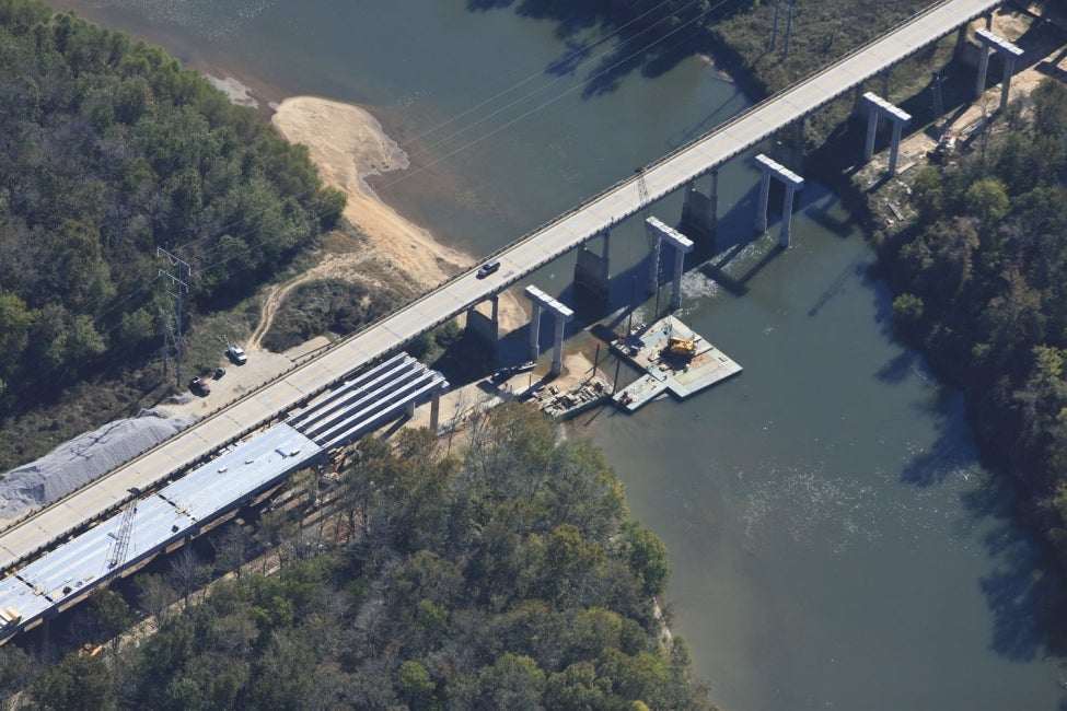 U.S. Highway 601 Bridge Replacements over Congaree River and Swamp | SC, US