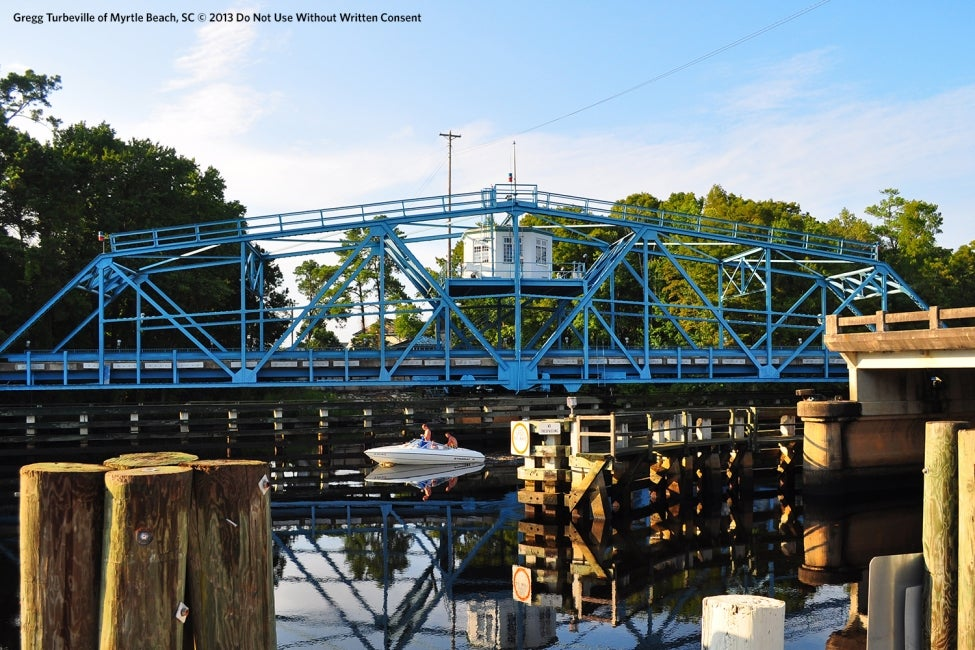 Socastee Swing Bridge | South Carolina