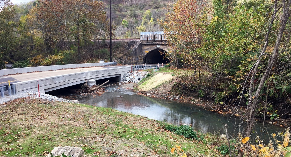 One of 558 bridges being designed and built across Pennsylvania, JV-433 is locat