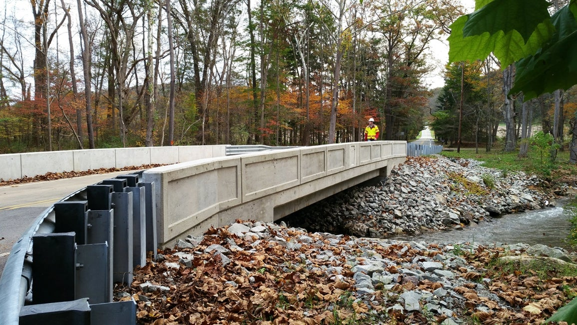 One of 558 bridges being designed and built across Pennsylvania, JV-547 is locat