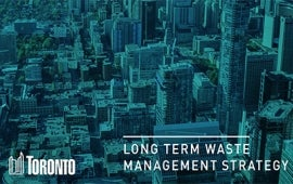 Toronto Long Term Waste Management Strategy