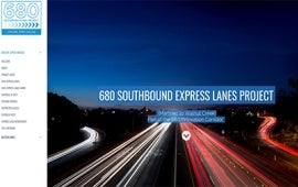 I-680 SB Express Lanes Project Online Meeting