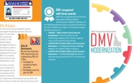 Idaho DMV Modernization Brochure