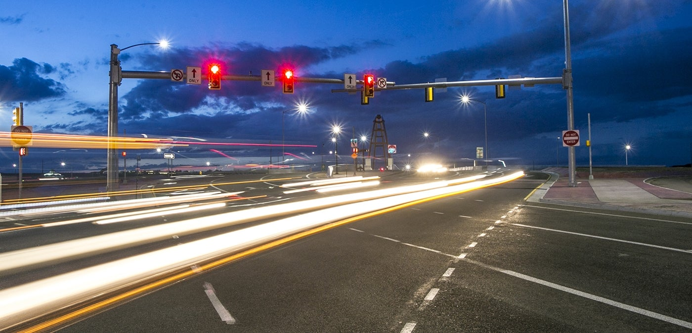 Insights into Transportation Funding and Financing US36 road night