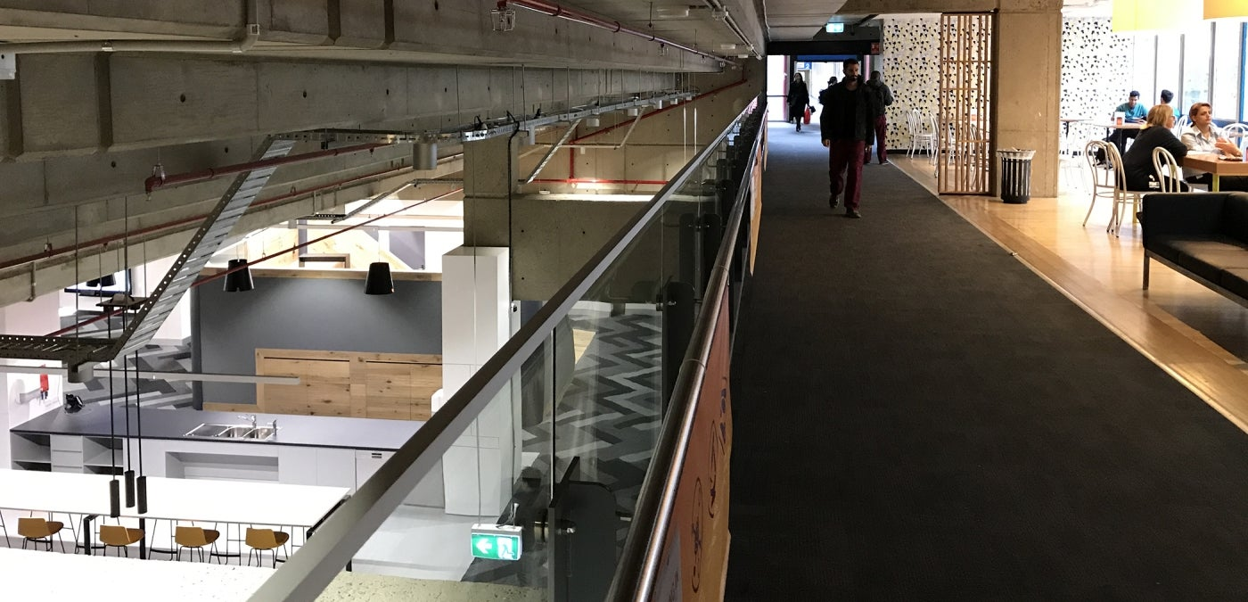 Westmead Education and Conference Centre multilevel interior