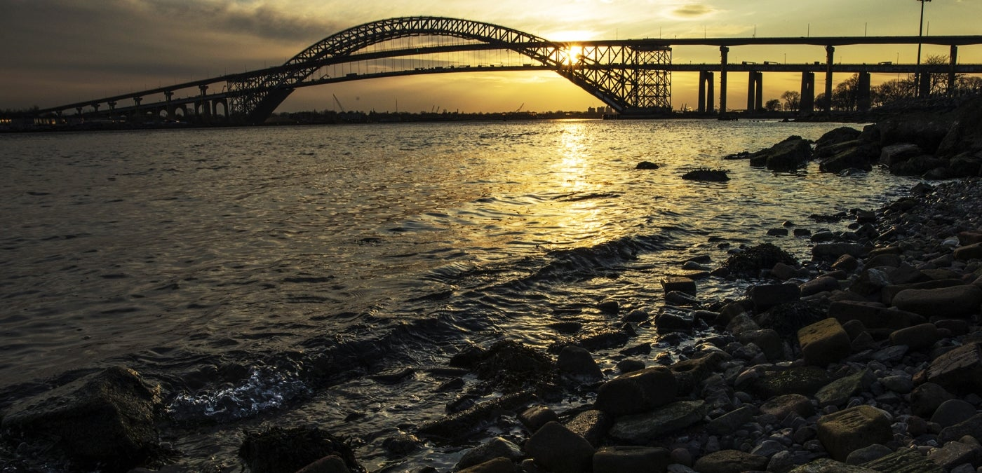 Bayonne Bridge at Sunset
