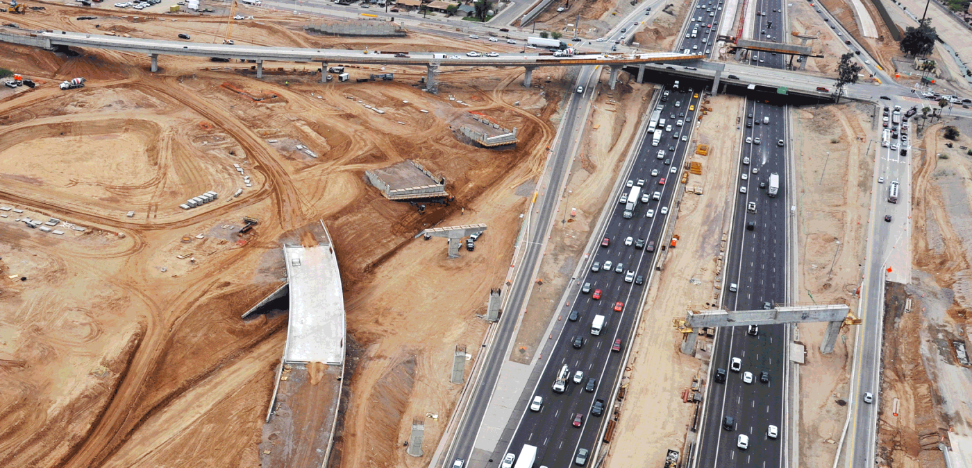 South Mountain Freeway Under Construction 2017