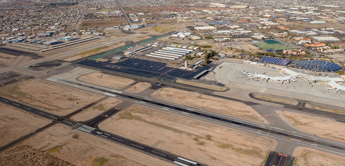 tucson international airport runway