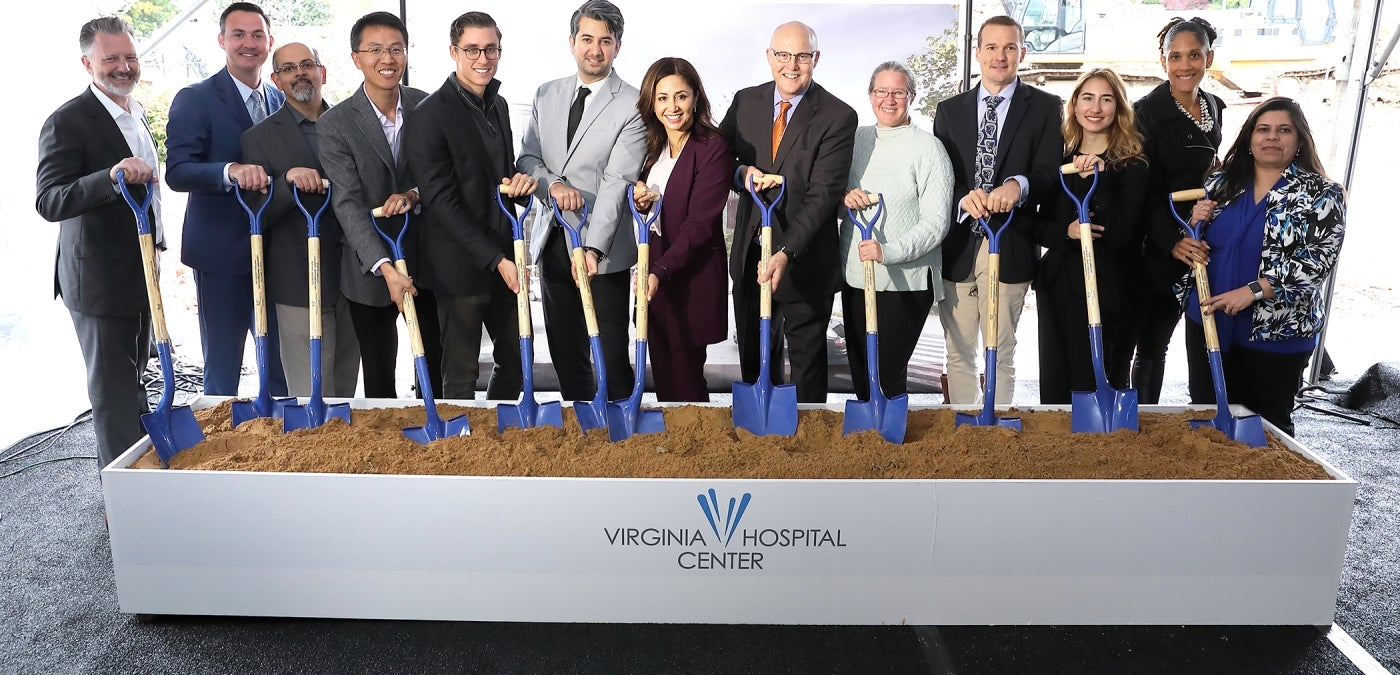 HDR Celebrates Groundbreaking of Virginia Hospital Center Outpatient Pavilion
