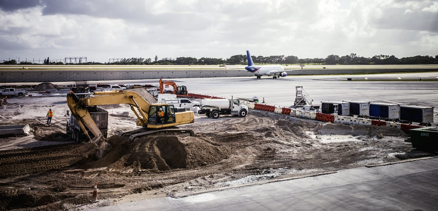 airfield construction