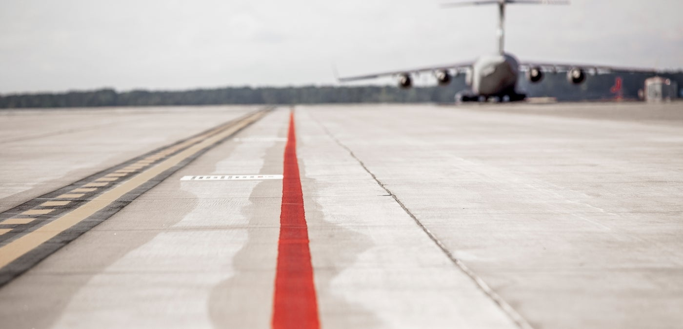 airport airfield pavement