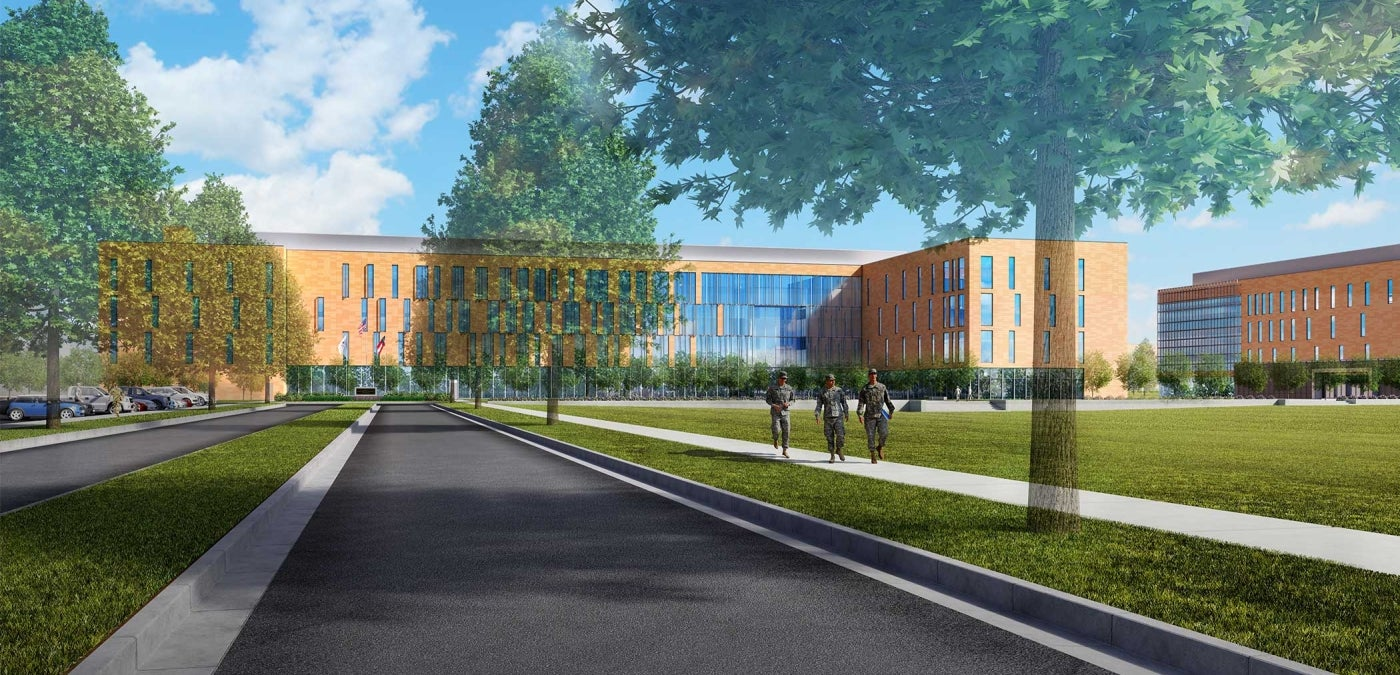 Cyber Center of Excellence at Fort Gordon Rendering