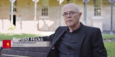 Randwick Hospital Interview with Ronald Hicks