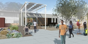Greenbuild's HDR-Designed GreenZone Education Center