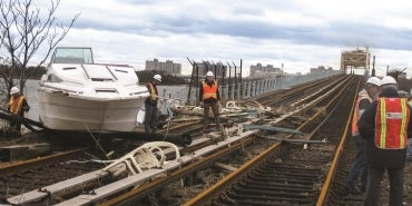 Rockway Rail Line Emergency Repairs