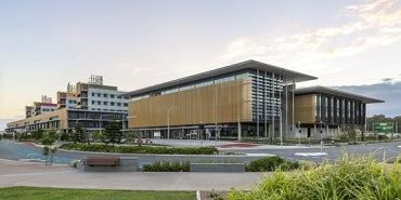 Sunshine Coast University Hospital exterior