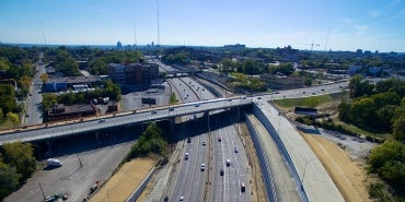 MLK I-71 interchange