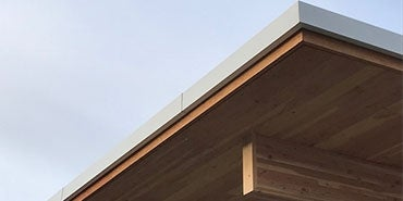 Mass Timber Beam Roof Detail HDR
