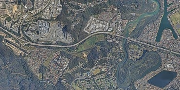Aerial-view-of-HDR-WSP-joint-highway-project-in-Australia